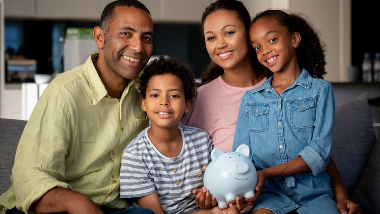 educação financeira infantil